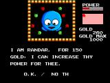 Golvellius: Valley of Doom SEGA Master System Randar is one of your friends