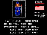 Golvellius: Valley of Doom SEGA Master System You are given a password