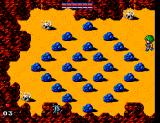 Golvellius: Valley of Doom SEGA Master System Funny, no where have I seen blue rocks in real life