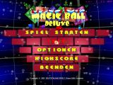 Magic Ball Christmas Edition Windows Main menu