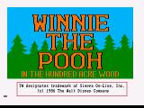 Winnie the Pooh in the Hundred Acre Wood Amiga Title