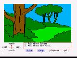 Winnie the Pooh in the Hundred Acre Wood Amiga Exploring the woods