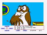Winnie the Pooh in the Hundred Acre Wood Amiga Say hello to Owl