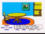 Winnie the Pooh in the Hundred Acre Wood Amiga Owl's dining room