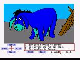 Winnie the Pooh in the Hundred Acre Wood Amiga Say hello to Eeyore
