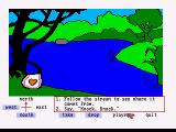 Winnie the Pooh in the Hundred Acre Wood Amiga What a big stream