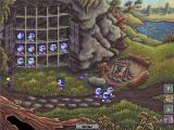 Logical Journey of the Zoombinis Windows Shelter Rock<br>This is a roadblock in the game as the player needs 16 Zoombinis to proceed. Three have been lost so the player must store this batch, return to the start and get more