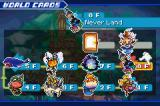 Kingdom Hearts: Chain of Memories Game Boy Advance Disney Worlds