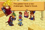 Kingdom Hearts: Chain of Memories Game Boy Advance Cloud from Final Fantasy VII