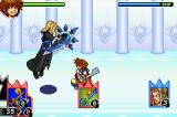 Kingdom Hearts: Chain of Memories Game Boy Advance Yet another fight