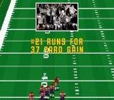 John Madden Football '93 SNES The crowd cheer a successful play