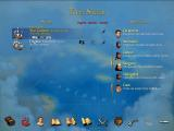 Sid Meier's Pirates! Windows Your fleet. Notice the specialist crew on the right