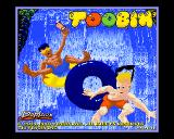 Toobin' Amiga Intro screen.