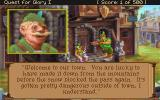 Quest for Glory I: So You Want To Be A Hero DOS Conversational close-up