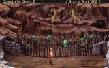 Quest for Glory I: So You Want To Be A Hero DOS Learning the rhyme from Baba Yaga's gatekeeper