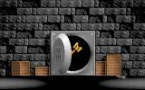 Spellbound! DOS Intro: the wand is hidden in the safe