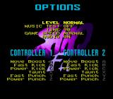Shaq Fu Genesis Options