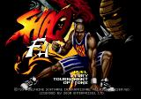 Shaq Fu Genesis Title screen