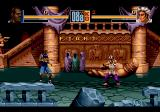 Shaq Fu Genesis Near the castle wall, Shaq is about to fight