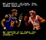 Shaq Fu Genesis Oh yeah? And you fight like a cow!