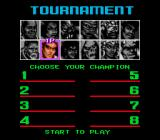 Shaq Fu Genesis Tournament mode
