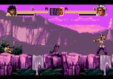 Shaq Fu Genesis Same scenario, another time of the day...