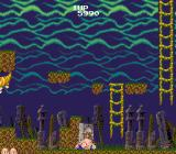 Bonze Adventure TurboGrafx-16 Knocked down...