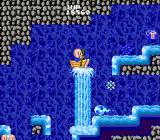 Bonze Adventure TurboGrafx-16 Lifted up by a waterfall