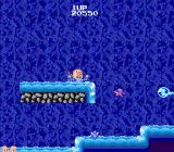 Bonze Adventure TurboGrafx-16 Bonze drowns in the water