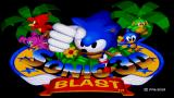 Sonic 3D Blast Wii Title Screen