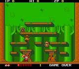Don Doko Don TurboGrafx-16 The first area