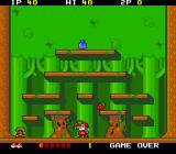 Don Doko Don TurboGrafx-16 After you have picked up an enemy, you can throw them at other enemies to destroy them