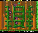 Don Doko Don TurboGrafx-16 Killed by purple bunny rabbits
