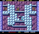 Don Doko Don TurboGrafx-16 Turned to ice by the ice queen