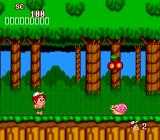 New Adventure Island TurboGrafx-16 Exploring the forest