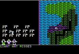 Phantasie Apple II Combat Graphical Display