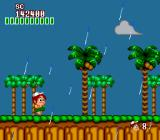 New Adventure Island TurboGrafx-16 It's raining here