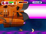 Mogura Reverse Windows A giant space ship in the third level: you have to destroy all the side-cannons before attacking the ship itself.