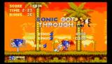 Sonic the Hedgehog 3 Wii Sonic got through act 1