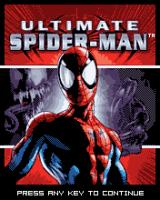 Ultimate Spider-Man J2ME Title screen