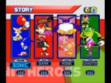 Sonic Heroes Xbox Team selection