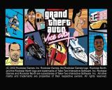 Grand Theft Auto: Vice City PlayStation 2 The copyright screen