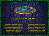 Jumanji Windows 3.x Intro screen for Treasure Maze game