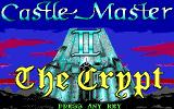 Castle Master + Castle Master II: The Crypt DOS Title screen