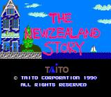 The New Zealand Story TurboGrafx-16 Title