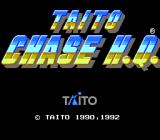 Chase H.Q. TurboGrafx-16 Title
