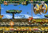 Top Hunter: Roddy & Cathy Neo Geo This airship's wind slows the movement of my character a bit