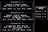 Europe Ablaze Apple II Scenario Selection