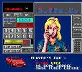 Chase H.Q. II: Special Criminal Investigation TurboGrafx-16 Taito Monitoring System