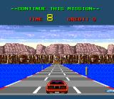 Chase H.Q. II: Special Criminal Investigation TurboGrafx-16 Damn. Ran out of time